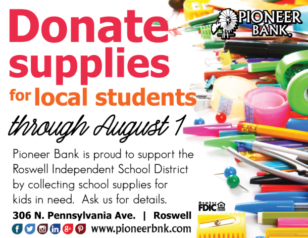 donate school supplies roswell
