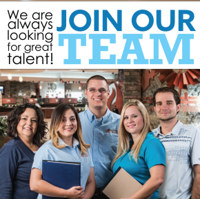 We are looking for great team members!
