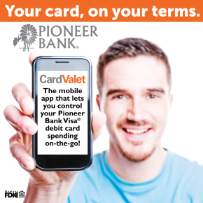 Your debit card, your terms!