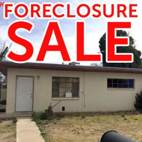 Foreclosure sale in Carlsbad