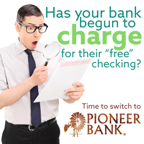 "Is your bank charging for ""free"" checking?"