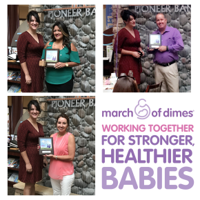 Supporting March of Dimes