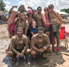 Mud Volleyball for Big Brothers/Big Sisters