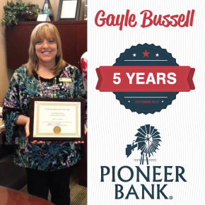 Celebrating Gayle Bussell!
