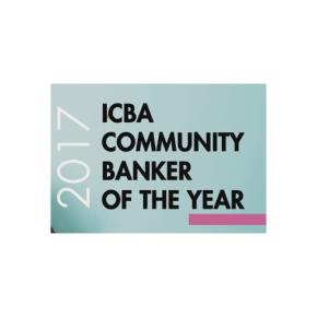 Christopher Palmer, Community Banker of theYear