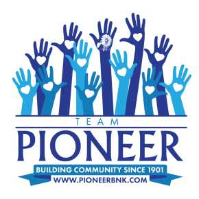 PIONEER BANK DEVELOPS COMMUNITY VOLUNTEER PROGRAM
