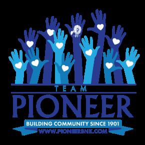 PIONEER BANK DEVELOPS COMMUNITY VOLUNTEERPROGRAM