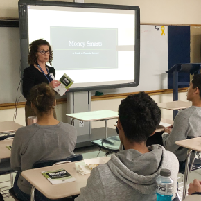 Team Pioneer Bank teaches financial literacy to teens