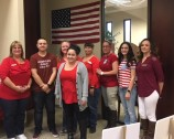 Our Alamogordo team in their red.