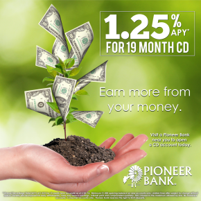 1.25% on a 19 month CD!