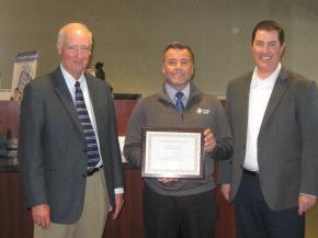 Scott Mohrhauser reaches 25-year milestone with PioneerBank