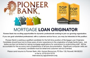 We are looking for a great Mortgage Loan Originator!