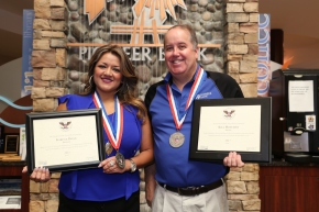 Presidential Service Awards presented to Pioneer Bank team members!