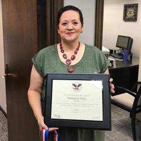 El Paso employee earns Presidential Volunteer ServiceAward