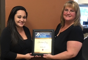 Alamogordo employee recognized for promotion