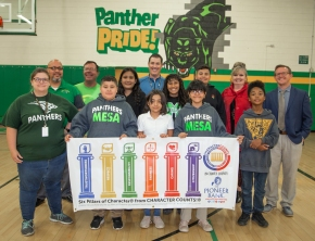 Pioneer Bank partners with Character Counts! of Chaves County