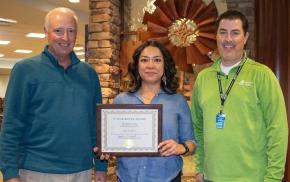 Mitzi Calleros celebrates 15 years with PioneerBank